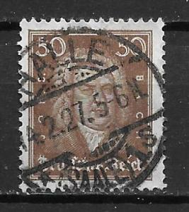 Germany 361 50f Men single Used (z4)