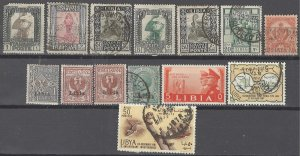 COLLECTION LOT # 2515 LIBYA 14 ALL CONDITIONS STAMPS 1912+ CV=$11 CLEARANCE