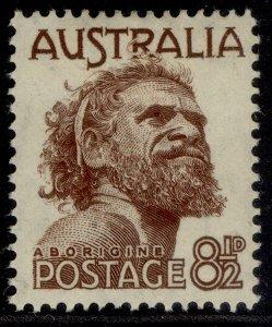 AUSTRALIA GVI SG238, 8½d brown, M MINT.