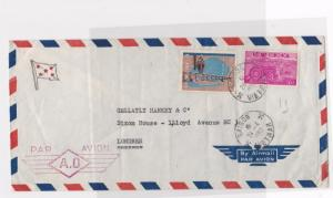 vietnam 1967   large multi stamps   stamps cover ref 12980