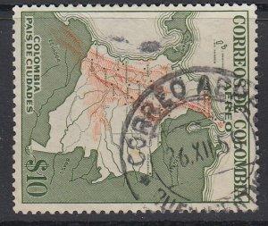 COLOMBIA, Scott C253, used