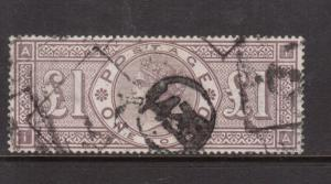Great Britain #110 Extra Fine Used Fault Free Example