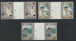 STAMP STATION PERTH Gilbert Is.#293-295 QEII 25th Anniv. Issue MNH 1977 CV$3.00