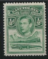 Basutoland SG 18  Mint Hinged