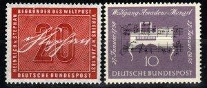 Germany #738-9  F-VF Unused  CV $6.80 (X647)