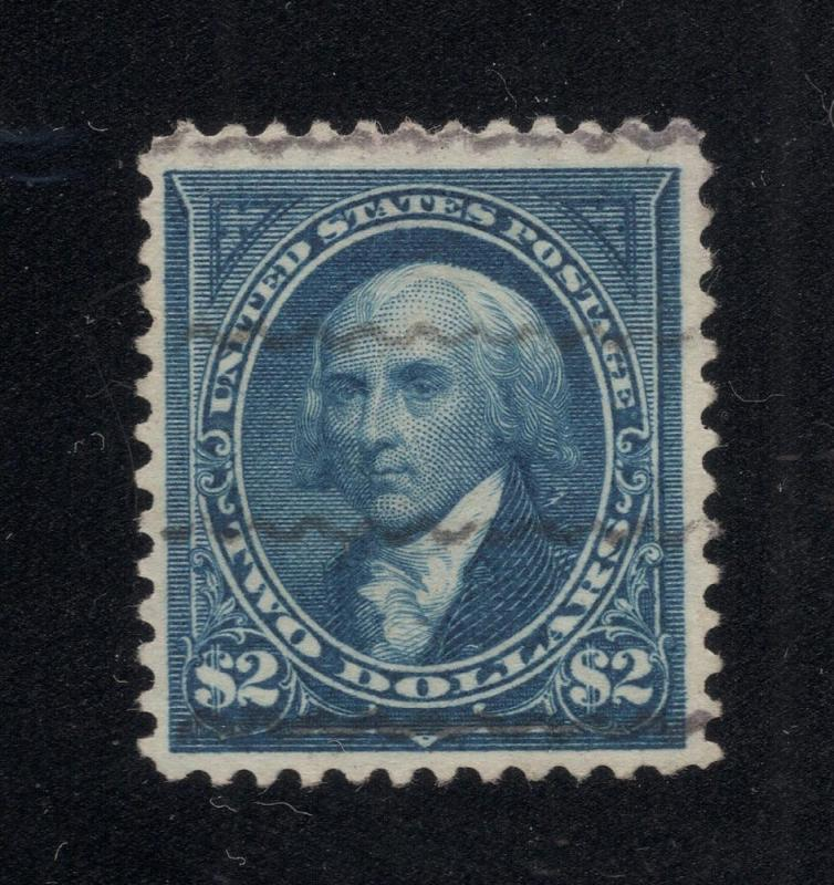US#277 Blue - Very Fine - Light Cancel - Rare Stamp