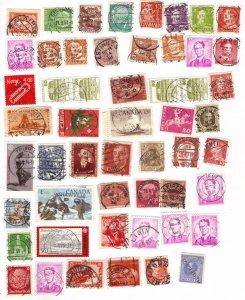 Worldwide postmarks mix #5