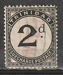 J2 Trinidad & Tobago Postage Due Used
