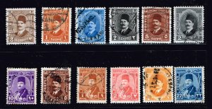 EGYPT STAMP USED STAMP COLLECTION LOT  #2