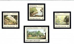Pitcairn Is 249-52 MNH 1985 Paintings          (KA)