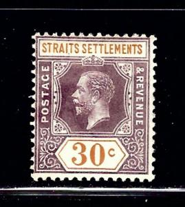 Straits Settlements 162 MH 1914 issue