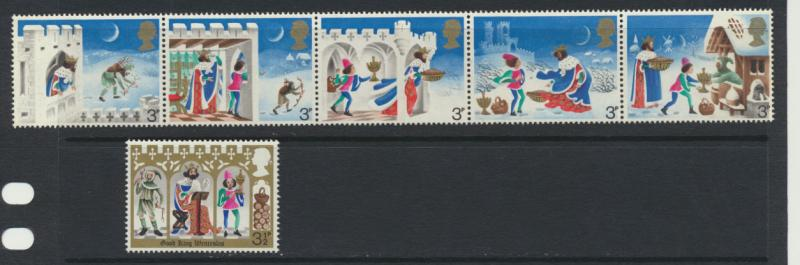 GB QE II Mint Never Hinged  SG 943 - 948 set with 943a