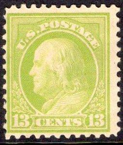 US Stamp #513 13c Franklin MINT NH SCV $21.50