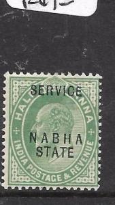 INDIA NABHA (P2701B) KE 1/2A  SERVICE SG 035  MOG
