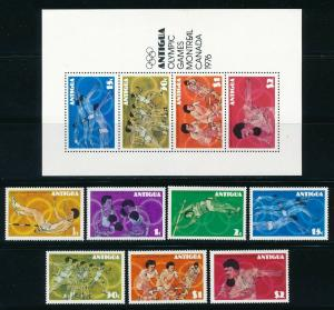 Antigua - Montreal Olympic Games MNH Set (1976)