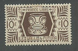 Wallis & Futuna Scott Catalog Number 139 Issued in 1944