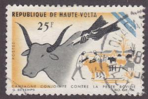 Burkina Faso 170 Vaccination 1966