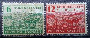 Germany Provinz Sachsen mnh