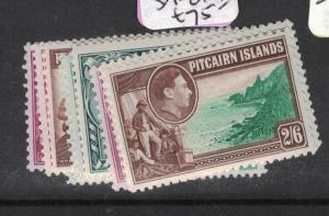 Pitcairn Island SG 1-8 MOG (10dsj)
