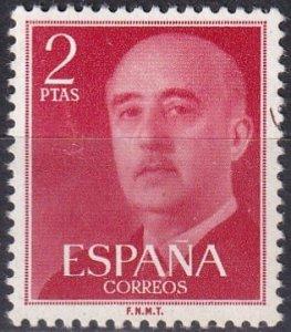 Spain #829  F-VF Unused CV $12.00 (Z1549)