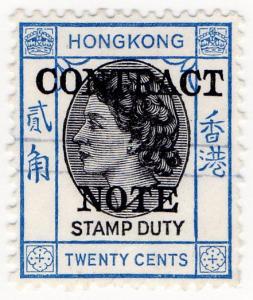 (I.B) Hong Kong Revenue : Contract Note 20c