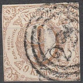 Thurn & Taxis #55   F-VF  Used CV $35.00 (A16342)