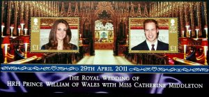 Isle of Man --2011-  The Royal Wedding MNH  sheet # 1435