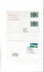 Great Britain Two Naval Covers for Passenger Ferries