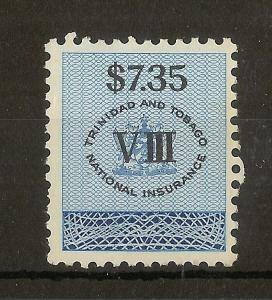 Trinidad & Tobago 1960 $7.35 National Insurance