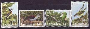 Jamaica-Sc#974-7-Unused NH set-Birds-Bird Life International-2003-