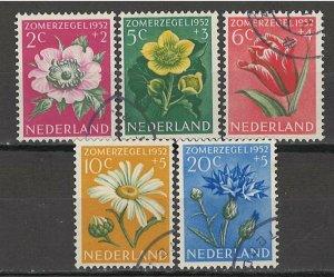 COLLECTION LOT # 5536 NETHERLANDS #B238-42 1952 CV+$13