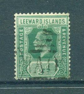 Leeward Islands sc# 42 used cat value $1.40