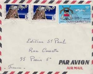 French West Africa, Airmail, Birds