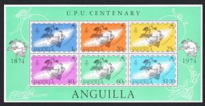 Anguilla Centenary of UPU MS SG#MS194 SC#204a