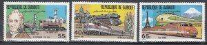 Djibouti, Sc 812-814, MNH, 1981, Locomotive