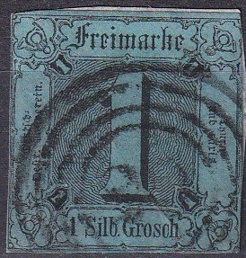 Thurn & Taxis #4  Used CV $140.00  (Z8835)