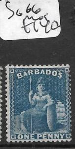 BARBADOS   (PP0810B) BRITANNIA SG 66  MOG