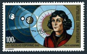 Central Africa C116,MNH.Michel 327. Copernicus-500,1973.Heliocentric System.