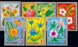 [67169] Equatorial Guinea 1976 Flora Flowers Blumen Imperf. MNH