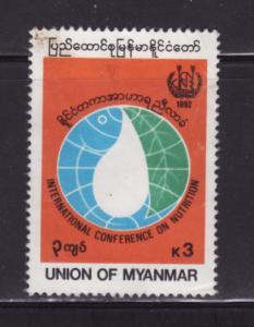 Burma Myanmar 313 U International Conference on Neutrition