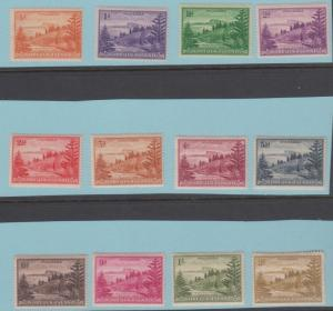 Norfolk Island 1 - 12 Mint Hinged OG * No Faults Extra Fine!