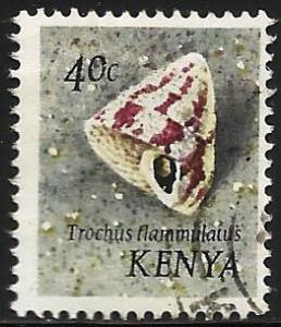 Kenya 1971 Scott# 41 Used