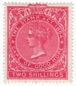 (I.B) Cape of Good Hope Revenue : Stamp Duty 2/- (1878)