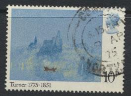 Great Britain SG 974   -Used  - Painters Turner