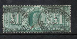 Great Britain #142 Used Fine - Very Fine Watermark 3 Imperial Crown