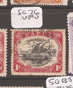 Papua SG 76 VFU (4dbx)