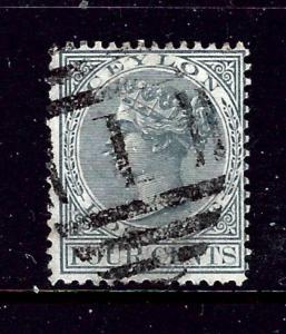 Ceylon 64 Used 1872 issue  #2