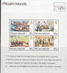 Pitcairn Islands, Sc 192, MNH, 1980, London 80