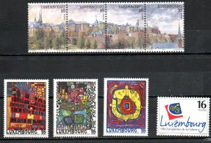 Luxembourg 922-926 MNH