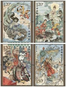 TangStamps: China  2019-6 Pilgrimage to the West(III)